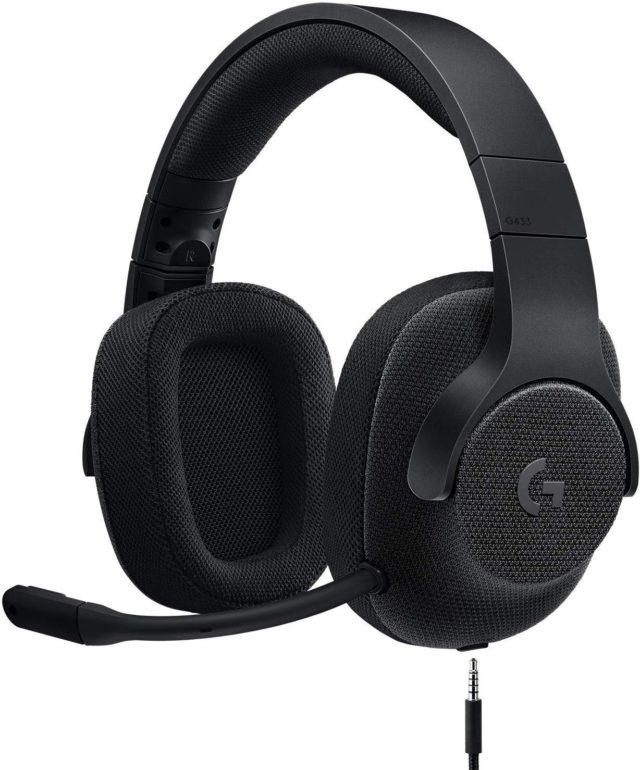 Logicool G ゲーミングヘッドセット G433BK
